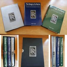 THE MAGIC OF A NAME: THE ROLLS-ROYCE STORY 3 VOLUMES - Pugh, Peter.