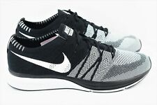 on sale 2fb41 68ea7 Nike Flyknit Trainer Mens Size 13 Running Shoes Oreo Black White AH8396 005
