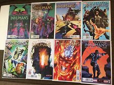 Uncanny Inhumans 0, 1, 2, 3, 4, 5, 6, 7 Charles Soule Near Mint  Lot 8 NM