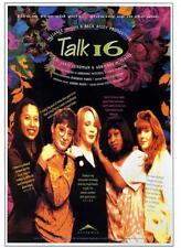 "TALK 16 - 27""x40"" Original Movie Poster One Sheet 1991 Documentary Rare"