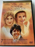 Sense and Sensibility Movie Special Ed English Spanish Portuguese (DVD, 1999)