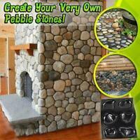 Casts Master Pebbles Concrete Mold Step Stones Plaster Cobblestones Mould A2U5