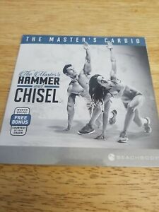 Beachbody ~ THE MASTER'S CARDIO ~ Hammer and Chisel ~ Bonus DVD ~ Workout ~ NICE