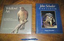 John Scheeler Bird Carver by Roger Schroeder