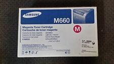 Samsung Genuine CLP-Y660B Yellow Toner Cartridge - CLP-610 /660 CLX-6200 series