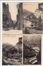 Lot 4 cartes postales anciennes DRÔME CHATILLON-EN-DIOIS