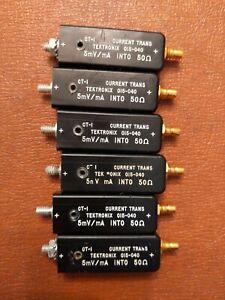 Tektronix CT-1  RF Current Sensor Transformer  015-040  5mV/mA