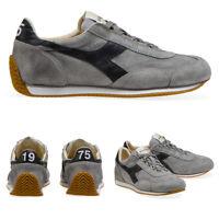 DIADORA HERITAGE Scarpe Sneakers da Uomo Equipe suede sw Camoscio Grigio Grey