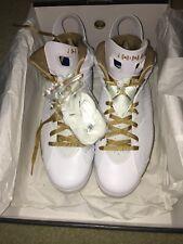 promo code ffdac caa01 Nike Air Jordan 6 VI Retro White Gold GMP Golden Moments Size 13. 535357-