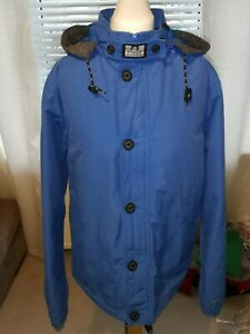 Weekend Offender Mens Jacket Blue Small VGC