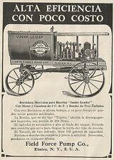 W3708 Rociadora Mecànica para Huertas Junior Leader - Pubblicità 1913 - Advertis