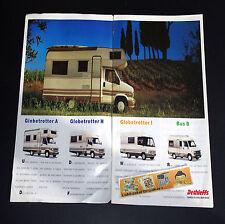 DETHLEFFS 1993 Motorcaravans_Globetrotter A_H_i_Bus B_CAMPING-CAR Brochure