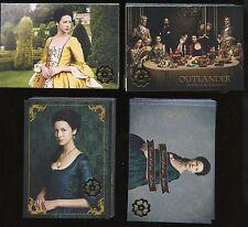 OUTLANDER Season 2 GOLD Jacobite Mini-Master Set 99-Cards Base + 3 Insert Sets