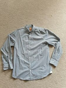 Boss Orange Hugo Mens Check Shirt XL Slim Fit Hardly Worn
