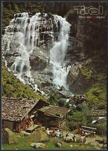 AB3740 Austria - Alm Am Wasserfall - Alpage Près D'Une Chute D'Eau - Postcard