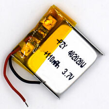 3.7 V 110mAh 402020 Li-Polymer Rechargeable Battery Liion LiPo Cell for GPS MP3