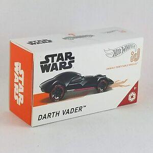 Hot Wheels ID Star Wars Darth Vader Black Series 1 GML53 NEW FREE SHIPPING