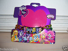 My Little Pony Equestria Girls Rainbow Rocks Metal BRACELET Hasbro 2014