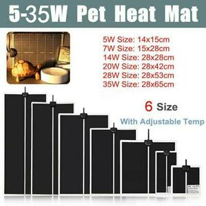 Adjustable Temperature Reptile Heating Heat Mat For Pet Heating  220V