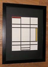 Piet Mondrian print -12''x16'' Framed Mondrian print, Composition by Mondrian