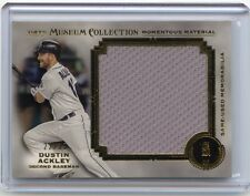 2013 MUSEUM COLLECTION #MMJR-DA DUSTIN ACKLEY JERSEY SP #22/35, SEATTLE MARINERS