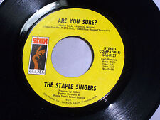 Staple Singers:  Are You Sure / This World  [Unplayed Copy]
