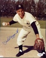 Phil Rizzuto Autograph Jsa 8x10 Photo Signed Authentic