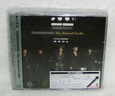 TOHOSHINKI TVXQ The Secret Code Japan 2-CD+DVD+Card (Dong Bang Shin Ki DBSK)