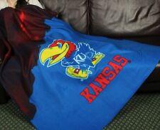 Kansas University Jayhawks NCAA College Fleece Throw Blanket by Northwest