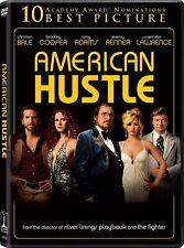 AMERICAN HUSTLE CHRISTIAN BALE AMY ADAMS JENNIFER LAWRENCE NEW SEALE DVD DIGITAL