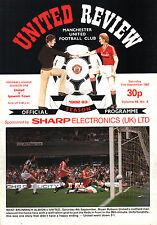 1982/83 Manchester United v Ipswich Town, Division 1, PERFECT CONDITION