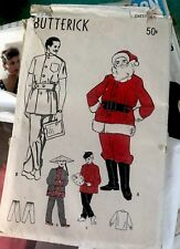 1940's Butterick Santa Pattern No. 4693. Sz 46. Four Masquerade Costumes