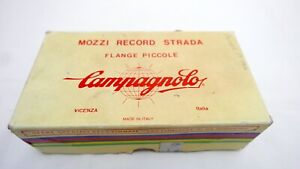 Campagnolo Record 24 Hole Small Flange Hubs & Skewers - NOS, Boxed, Vintage