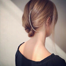Women's Long Bent Hair Comb Slide Pin Clip Hair Styling Accessory