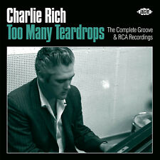Charlie Rich - Too Many Teardrops - The Complete Groove & RCA Recordings (Ace)