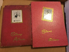 2 Vintage China ROC Taiwan Stamp Book collection
