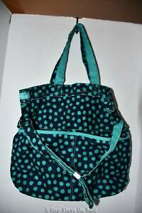 Thirty One Retro Metro Fold Over in Lotsa Dots NWT