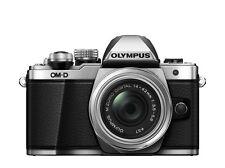 OLYMPUS OM-D E-M10 II + 3,5-5,6 / 14-42mm R II silber / EM10Mark2 / incl.16GB SD