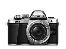 OLYMPUS OM-D E-M10 II + 3,5-5,6 / 14-42mm R II silber / EM10Mark2 OVP
