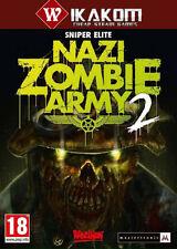 SNIPER Elite: NAZI Zombie Army 2 VAPORE DIGITALE gioco ** CONSEGNA VELOCE! **