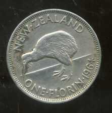 NOUVELLE ZELANDE 1 one shilling  1964  ANM