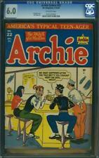 Archie Comics #22 - CGC 6.0 - MLJ 1946 - Archie Andrews! - RARE copy! K6 213 cm