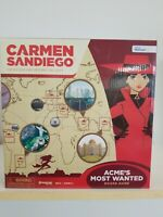 Carmen Sandiego Catch Vile And Return The Loot Board Game. New. Free Shipping.