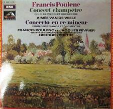 Poulenc(Vinyl LP Gatefold)Concert Champetre-France- 2C 069 12.100-EMI-Ex/Ex