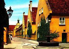 Augsburg , Fuggerei , Ansichtskarte ,ungelaufen