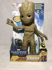 "Hasbro Marvel Guardians Of The Galaxy Vol. 2 Groot Dancing Action Figure 11.5"""