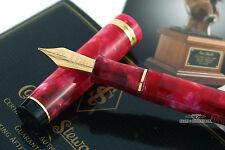 Conway Stewart Cherry Red Duro Fountain Pen - F Nib