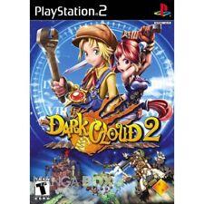 DARK CLOUD 2  NTSC-U/C US USA  PS2 IMPORT Playstation 2  Top RPG!