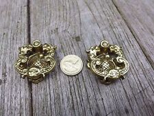 Vintage Brass Small Pull Door Drawer Knobs Handle Project Furniture