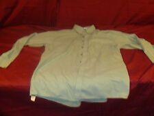 GEOFFREY BEENE MENS DRESS SHIRT GREEN BUTTON UP LONG SLEEVE 16 34/35 RB 11567